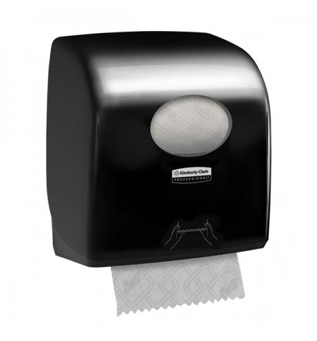 фото: Диспенсер для полотенец в рулонах Kimberly-Clark Aquarius 7376, черный, большой