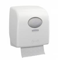 фото: Диспенсер для полотенец в рулонах Kimberly-Clark Aquarius 7955, белый, малый