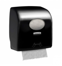 фото: Диспенсер для полотенец в рулонах Kimberly-Clark Aquarius 7956, черный, малый