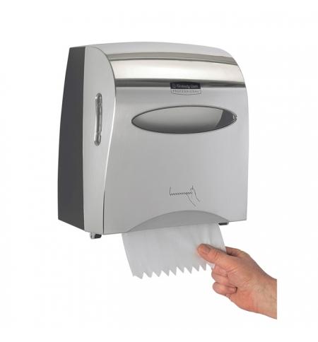 фото: Диспенсер для мыла в картриджах Kimberly-Clark Kleenex 11329 сенсорный, металлик, 1.2л