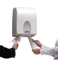 Диспенсер для туалетной бумаги листовой Kimberly-Clark Aquarius 6946 белый