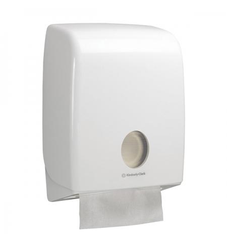 фото: Диспенсер для полотенец листовых Kimberly-Clark Aquarius 6954, белый