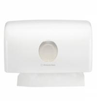 фото: Диспенсер для туалетной бумаги в рулонах Kimberly-Clark Aquarius 6947 белый