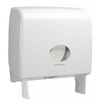 фото: Диспенсер для туалетной бумаги в рулонах Kimberly-Clark Aquarius 6991, белый