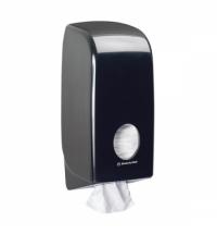 фото: Диспенсер для туалетной бумаги листовой Kimberly-Clark Aquarius 7172, черный