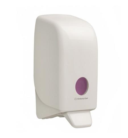 фото: Диспенсер для мыла в картриджах Kimberly-Clark Aquarius 6948, белый, 1л