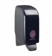 Диспенсер для мыла в картриджах Kimberly-Clark Aquarius 7173, черный, 1л