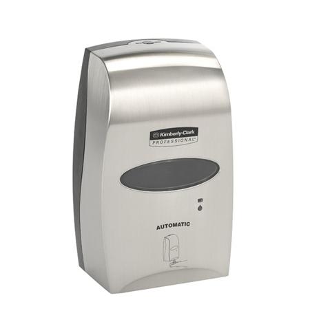 фото: Диспенсер для мыла в картриджах Kimberly-Clark Kleenex 11329, сенсорный, металлик, 1.2л