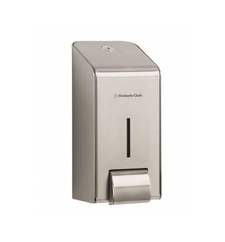 фото: Диспенсер для мыла в картриджах Kimberly-Clark Metal 8973, металлик, 1л