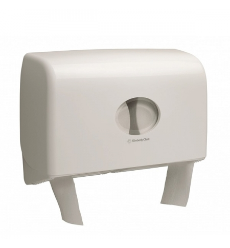 фото: Диспенсер для туалетной бумаги в рулонах Kimberly-Clark Aquarius 6947, белый