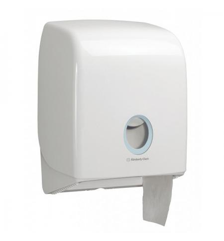 фото: Диспенсер для туалетной бумаги в рулонах Kimberly-Clark Aquarius 6958, белый