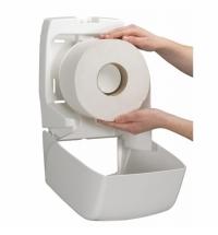 фото: Бумажные полотенца Kimberly-Clark Kleenex Ultra MultiFold 4632 листовые, 150шт, 2 слоя, белые