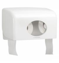 фото: Диспенсер для туалетной бумаги в рулонах Kimberly-Clark Aquarius 6992, белый