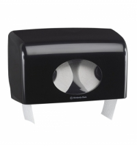 Диспенсер для туалетной бумаги в рулонах Kimberly-Clark Aquarius 7191, черный