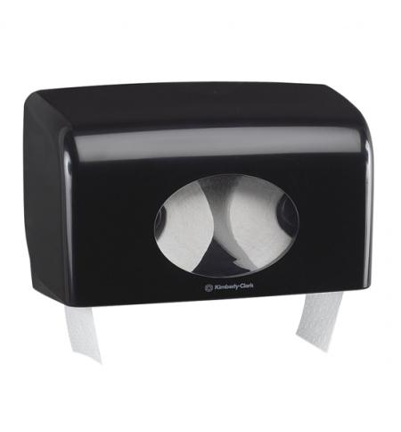 фото: Диспенсер для туалетной бумаги в рулонах Kimberly-Clark Aquarius 7191, черный