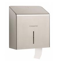 Диспенсер для туалетной бумаги в рулонах Kimberly-Clark Jumbo 8974, мини, металлик