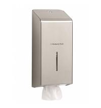 Диспенсер для туалетной бумаги листовой Kimberly-Clark 8972, металлик