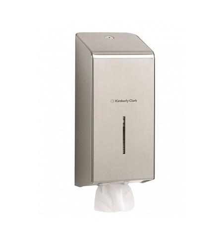фото: Диспенсер для туалетной бумаги листовой Kimberly-Clark 8972, металлик