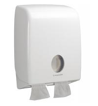 Диспенсер для туалетной бумаги листовой Kimberly-Clark Aquarius 6990, белый