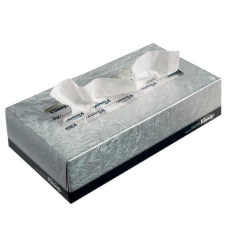 фото: Косметические салфетки Kimberly-Clark Kleenex 21400, листовые, 100шт, белые