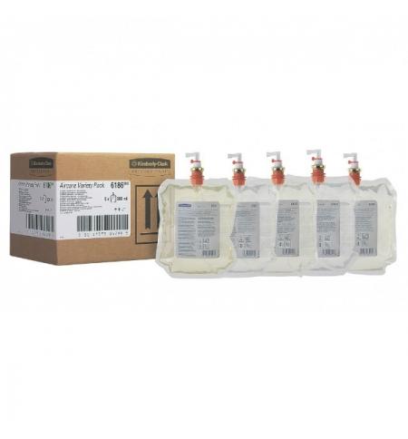 фото: Освежитель воздуха Kimberly-Clark 6186, 5шт, 300мл, запасной картридж, 5 ароматов