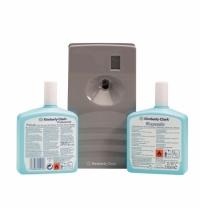 фото: Протирочный материал Kimberly-Clark WypAll L20 7300, для сильных загрязнений, в рулоне, 190м, 2 слоя, синий