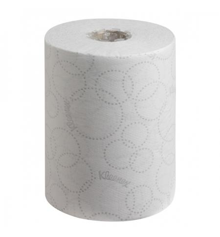 фото: Бумажные полотенца Kimberly-Clark Kleenex Ultra 6781, в рулоне, 100м, 2 слоя, белые