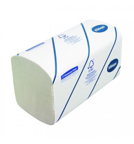 фото: Кимберли-Кларк полотенца бумажные Kleenex Ultra 6789, листовые, 186шт, 2-х слойные, белые