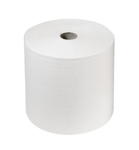 фото: Бумажные полотенца Кимберли-Кларк Scott 6667, в рулоне, 304м, 1 слой, белые