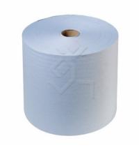 Бумажные полотенца Kimberly-Clark Scott 6668, в рулоне, 304м, 1 слой, голубые