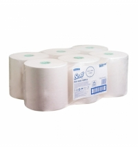 фото: Протирочный материал Kimberly-Clark WypAll L10 общего назначения, в рулоне, 380м, 1 слой, 7473, белый