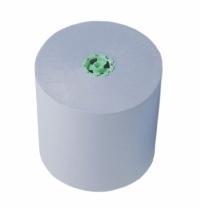 фото: Протирочный материал Kimberly-Clark WypAll 7772, в рулоне с центральной вытяжкой, в тубе, 50 листов, зеленый