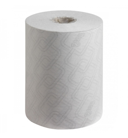 фото: Бумажные полотенца Kimberly-Clark Scott Essential 6695, в рулоне, 190м, 1 слой, белые