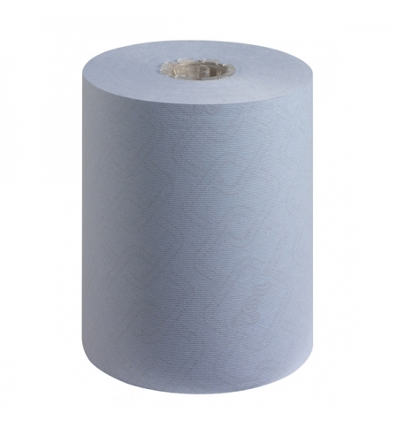 фото: Бумажные полотенца Kimberly-Clark Scott Essential 6696, в рулоне, 190м, 1 слой, синие