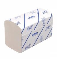 Бумажные полотенца Кимберли-Кларк 6677 Scott Extra листовые, однослойные, 320шт, белые