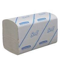 фото: Бумажные полотенца Kimberly-Clark Scott Perfomance 6663, листовые, 212шт, 1 слой, белые