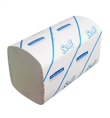 фото: Бумажные полотенца Скотт Кимберли-Кларк Perfomance 6689, листовые, 274шт, 1 слой, белые