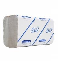 Бумажные полотенца Kimberly-Clark Scott Perfomance РАСТВОРИМЫЕ 6659, листовые, 300шт, 1 слой, белые