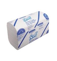 фото: Бумажные полотенца Kimberly-Clark Scott Scottfold 6633, листовые, 175шт, 1 слой, белые