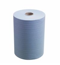 Бумажные полотенца Кимберли-Кларк Scott Slimroll 6658, в рулоне, 165м, 1 слой, синие
