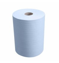 фото: Бумажные полотенца Kimberly-Clark Scott Slimroll 6698, в рулоне, 190м, 1 слой, синие