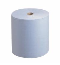 Бумажные полотенца Kimberly-Clark Scott XL 6688, в рулоне, 354м, 1 слой, голубые