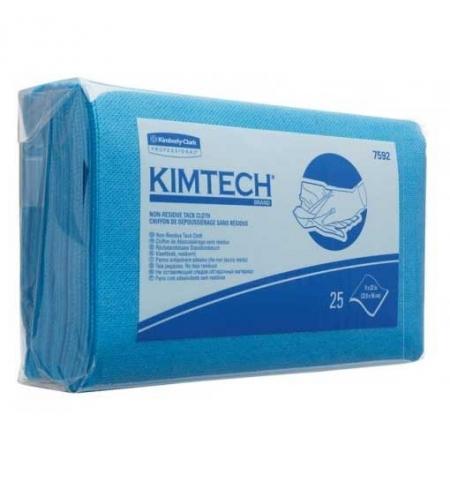 фото: Протирочные салфетки Kimberly-Clark Kimtech 7592, липкие, 25шт, 1 слой, синие