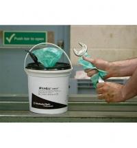 фото: Протирочный материал Kimberly-Clark WypAll L20 7317, для сильных загрязнений, в рулоне, 380м, 2 слоя, синий