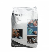 фото: Протирочный материал Kimberly-Clark WypAll L40 7425, для сильных загрязнений, в рулоне, 285м, 3 слоя, синий