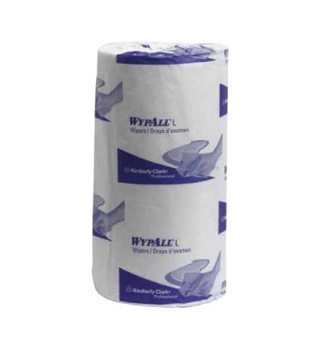 фото: Протирочные салфетки Kimberly-Clark WypAll L10 7123, 200шт, 1 слой, синие