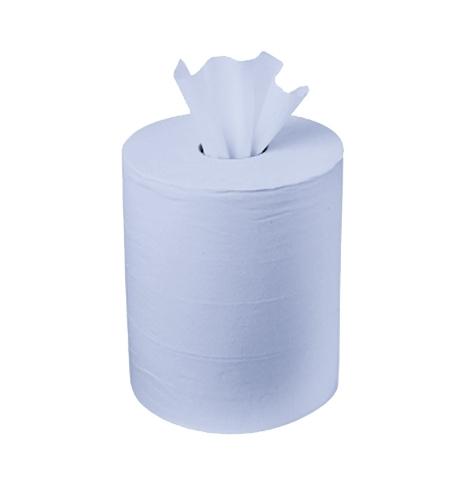 фото: Протирочный материал Kimberly-Clark WypAll L10, 7277, для легких загрязнений, в рулоне с центральной