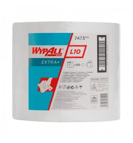 фото: Протирочный материал Kimberly-Clark WypAll L10, 7473, общего назначения, в рулоне, 380м, 1 слой, бел