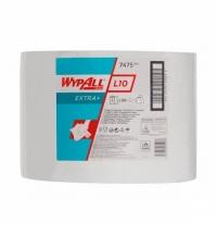 фото: Протирочный материал Kimberly-Clark WypAll L10, 7475, общего назначения, в рулоне, 570м, 1 слой, бел
