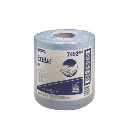 фото: Протирочный материал Kimberly-Clark WypAll L10, 7492, общего назначения, в рулоне с центральной вытя